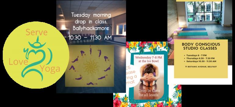 2020 Class schedule