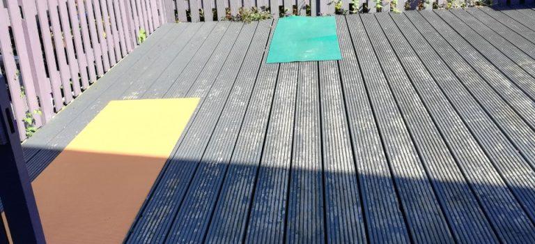 Outside Yoga Classes!